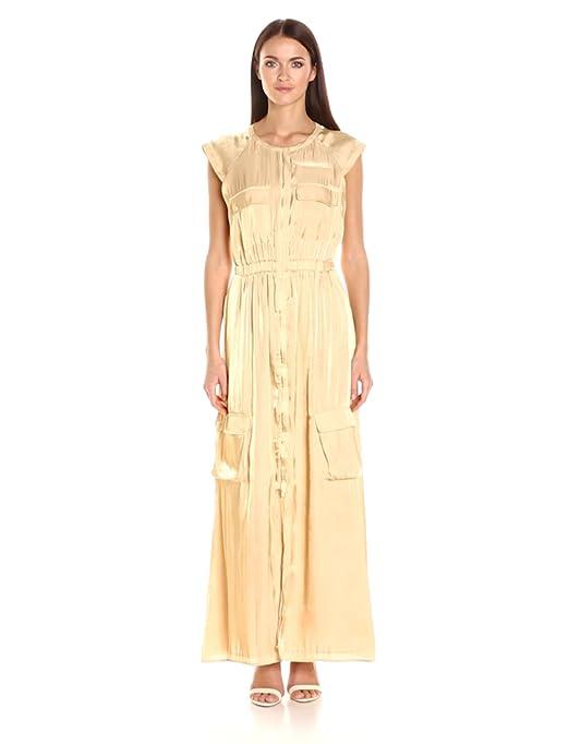 7ba586adb94 Guess Women s Short Sleeve Amari Cargo Dress at Amazon Women s Clothing  store