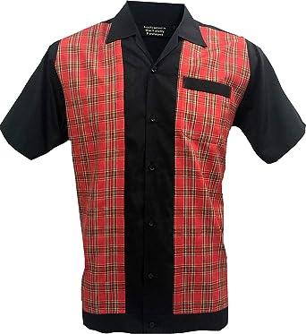 Rockabilly Fashions Camisa casual para hombre de los años 50 ...
