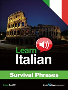 Learn Italian - Survival Phrases Audio Course for Mac [Download]