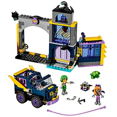 LEGO DC Super Hero Girls Batgirl Secret Bunker 41237 Building Kit (351 Piece): Toys & Games