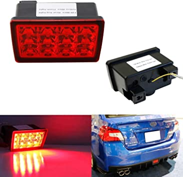 [SCHEMATICS_48IS]  Amazon.com: iJDMTOY Red Lens F1 Style Strobe/Flashing Tail/Brake LED Rear Fog  Light Kit Compatible With 2011-2021 Subaru Impreza/WRX STi or XV Crosstrek  (with Wire Harness & Mounting Bracket): Automotive | 2007 Wrx Fog Light Wiring Harness |  | Amazon.com