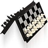 طقم شطرنج ممغنطي للسفر مع لوح شطرنج تعليمي للاطفال والكبار