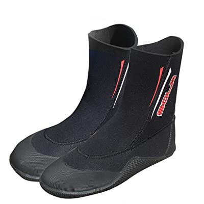 Amazon.com : Sola 5 mm Pull-On Neoprene Boots : Clothing