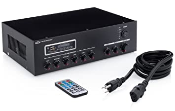 Amazon pure resonance audio ma30bt 7 channel commercial pure resonance audio ma30bt 7 channel commercial mixer amplifier with bluetooth sciox Choice Image