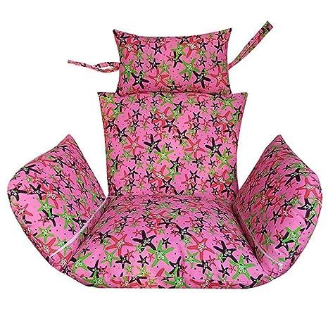 Amazon.com: JRMU Thick Hanging Egg Hammock Chair Cushion, 24x20 ...