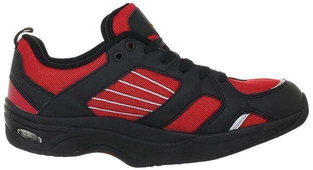 Chung Shi AuBioRiG Balance Step Promo 9100130, Scarpe da camminata uomo, Rosso (Rot (rot/schwarz)), 46.5