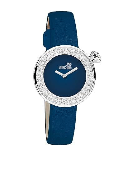 Moschino Reloj de cuarzo Yes, I Will! Azul 32 mm