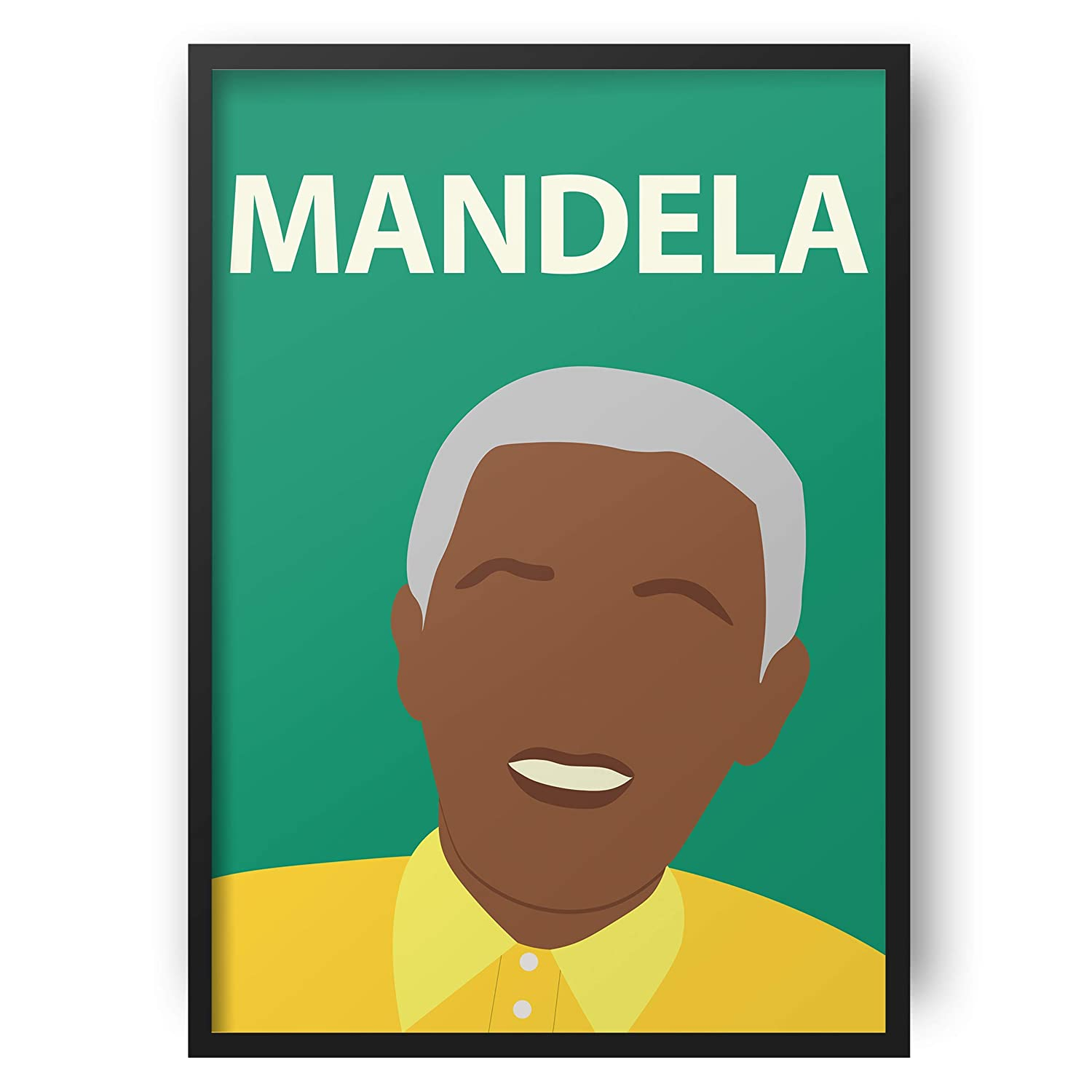 BUY 2 GET ANY 2 FREE A3 SIZE NELSON MANDELA POSTER ART PRINT A4