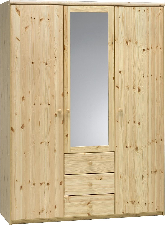 Steens Axel Kleiderschrank, 3 Türen und 3 Schubladen, 145 x 200 x 61 ...