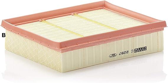 MANN-FILTER C 2237 Filtre /à air pour v/éhicules particuliers