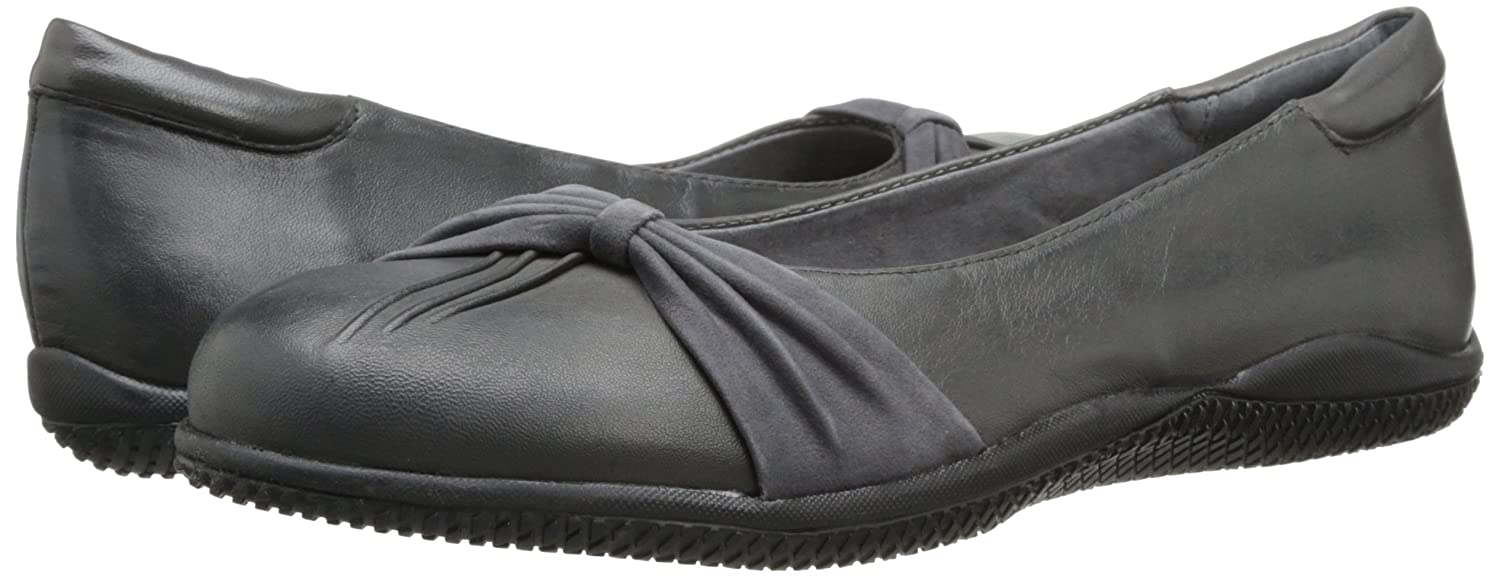 SoftWalk Women's Haverhill Ballet Flat B00HQQVGLI 7.5 2A(N) US|Grey
