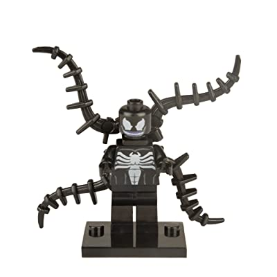 JekaTOYS Venom Spiderman Minifigures Minifigs NEW 2016 TOYS Super Hero Building Block Brick Minifigure Super Hero LIMITED TIME OFFER!: Toys & Games