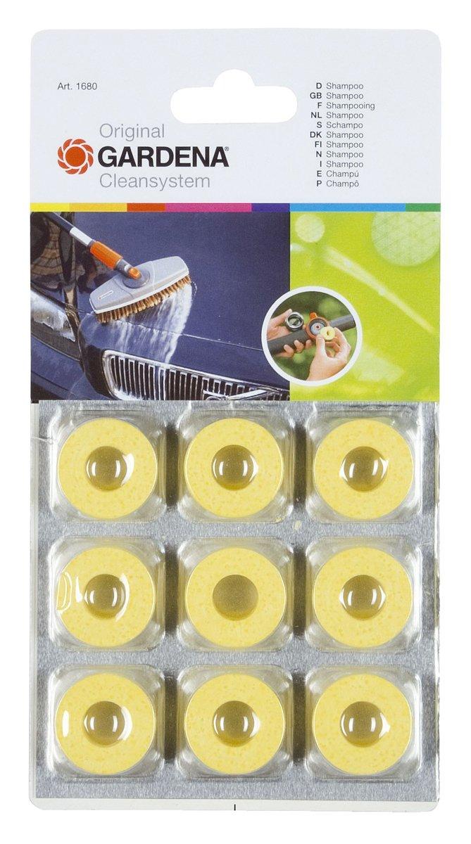 Gardena Cleansystem 1680-20 - Anillos de limpieza circulares para limpiar las superficies lacadas y plásticas sin dañarlas, dosificación eficaz 523347