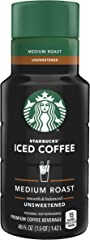 Starbucks - Chilled Unsweetened Iced Coffee, Unflavored, 48 Fl Oz