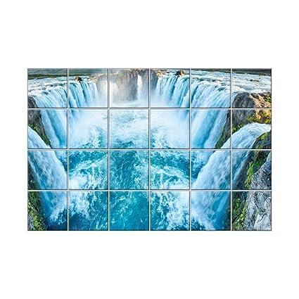 NISH! \'Waterfall\' Collection   Bathroom Wall Tiles   Decorative Wall ...