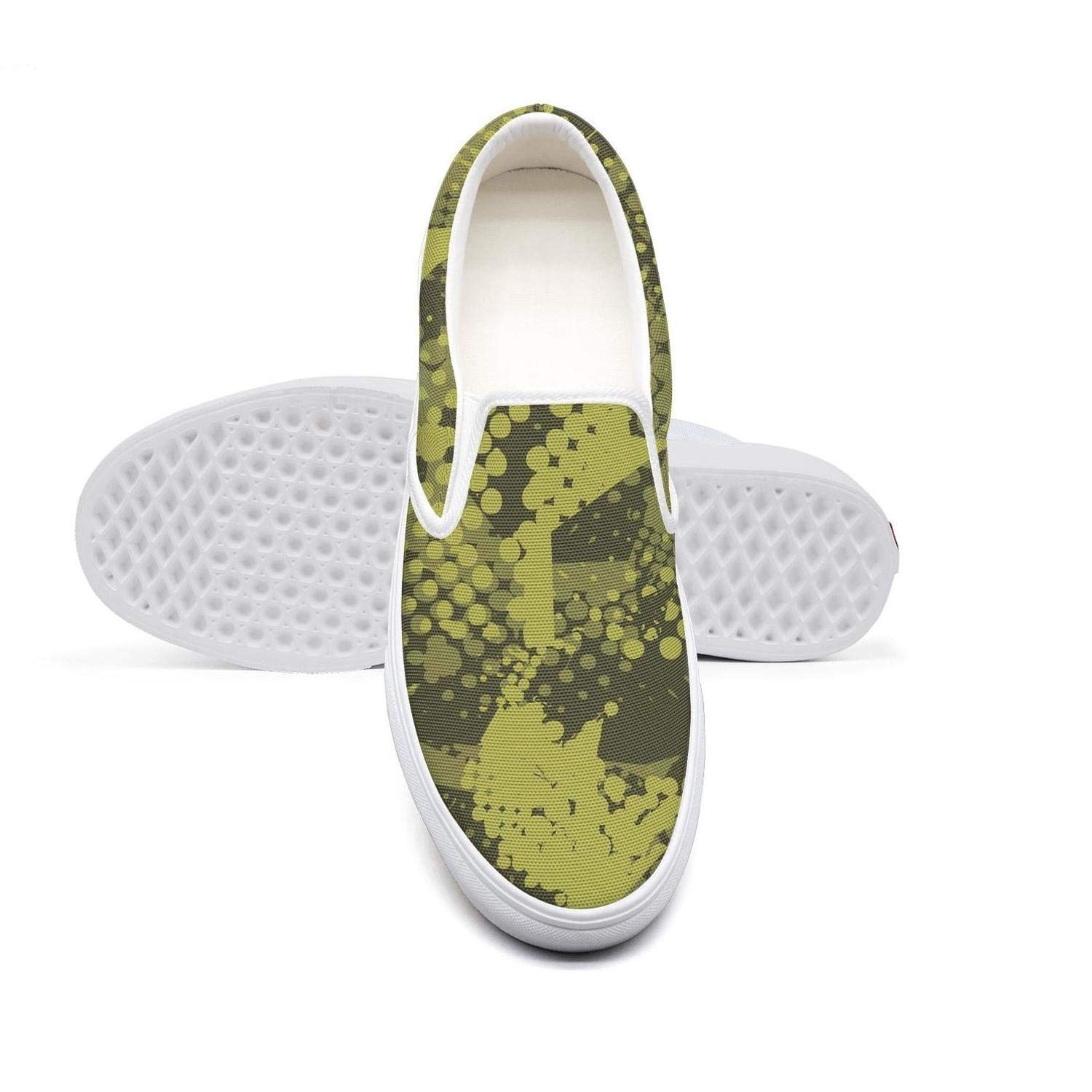 Beige Graceful Wild Cats African Sports Shoes Trendy Slip-on for Women