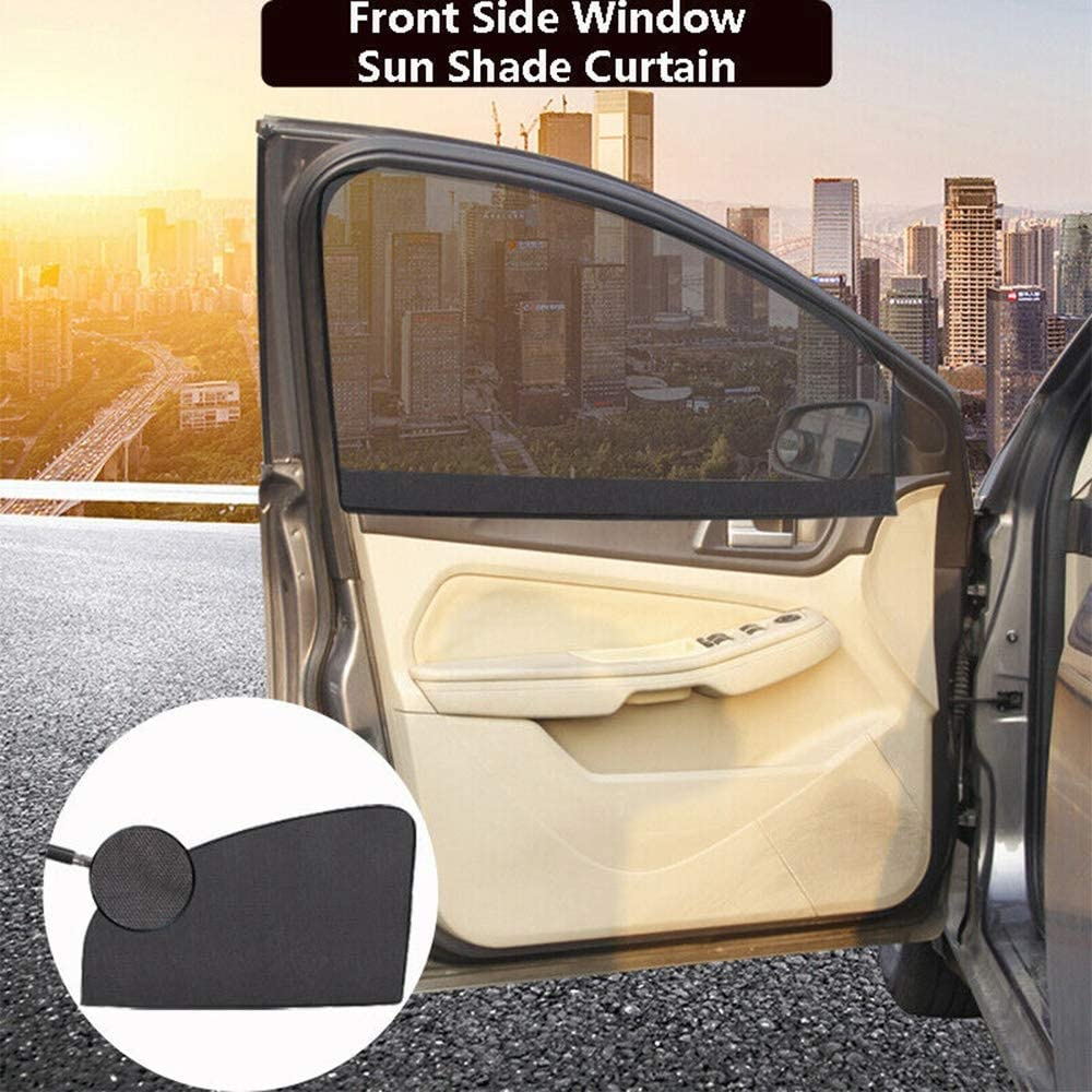 Without brand XW-ZYL Magnetisches Auto-Seitenscheibe Beifahrer-Farbton-Masken Anti-UV-Abdeckung Sonnenschutz