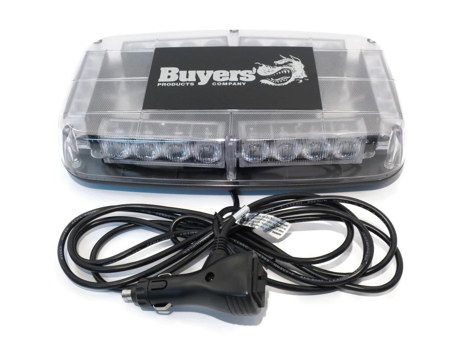 Amber LED LIGHTBAR for ATV Quad Four Wheeler UTV Cab Enclosure Emergency Light by The ROP Shop