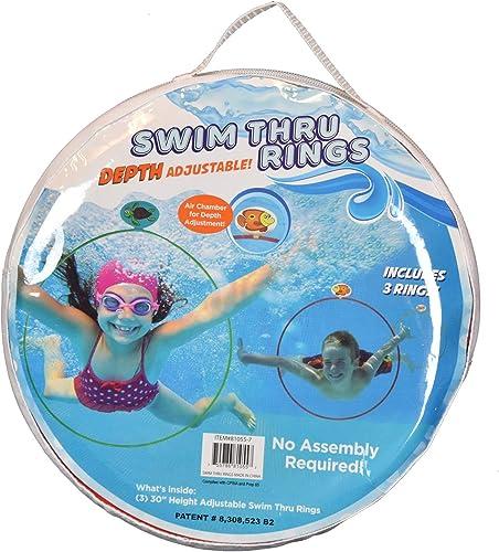 Water-Sports-81055-7-Swim-Thru-Rings-Assorted-Pack