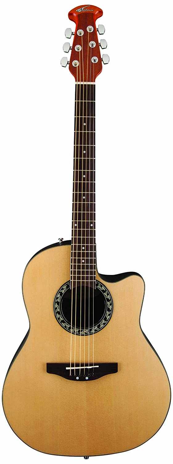 Ovation AB24A-4 Acoustic Guitar, Applause Balladeer Cutaway Dreadnought Ovation Guitars