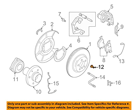 Marvelous Amazon Com 8 X Bmw Genuine Bolt For Wheel Hub Bearing 12 X 1 5 X Wiring Database Unre4X4Andersnl