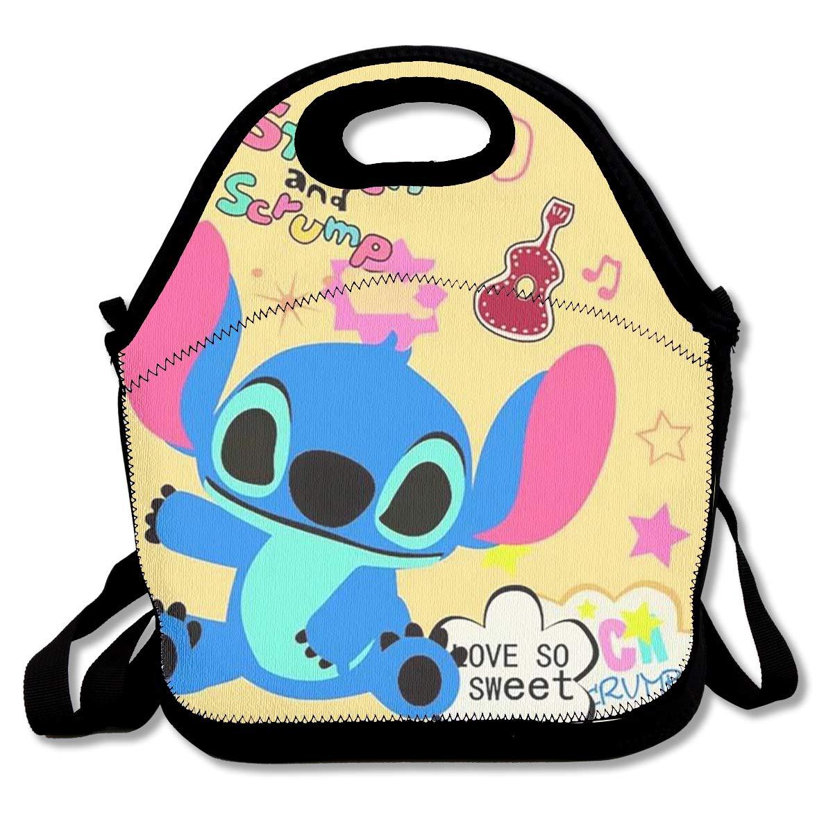 26fd8521cac9 Amazon.com - LIUYAN Personalized Bento Lunch Box So Sweet Stitch ...