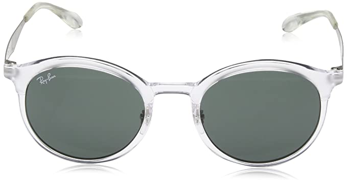 RAYBAN Unisex Emma 632371 Sunglasses, Matte Crystal/Green, 51:  Amazon.co.uk: Clothing