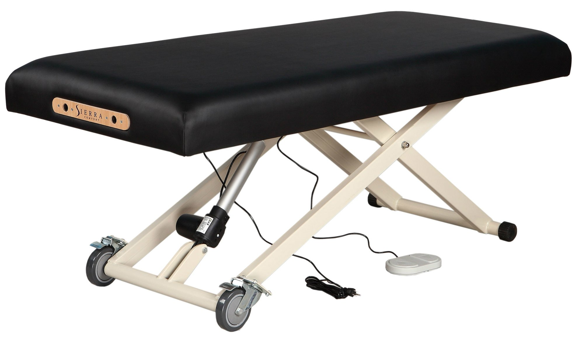 SierraComfort Electric Lift Massage Table, Black by SierraComfort (Image #2)