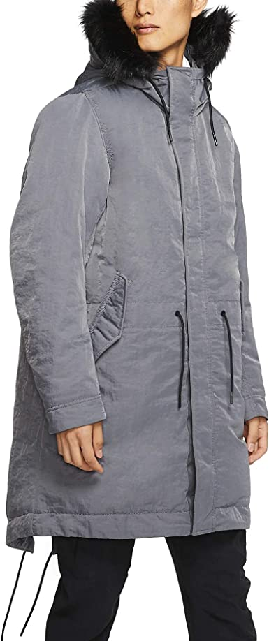 Nike Mens NSW Down Fill Parka Hooded