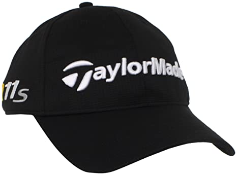 c7cf165ce71 Amazon.com   TaylorMade Tour Radar Relaxed Adjustable Hat (Black ...