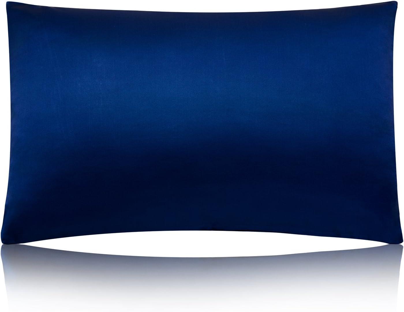 Amazon Com Meilis 100 Pure Silk Satin Pillowcase For Baby Travel Sized Pillows Hypoallergenic Pillow Shams Cover Royal Blue Kids Pillow Slip Home Kitchen