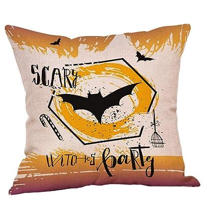 FeiliandaJJ(TM) - Funda de almohada para Halloween, diseño ...