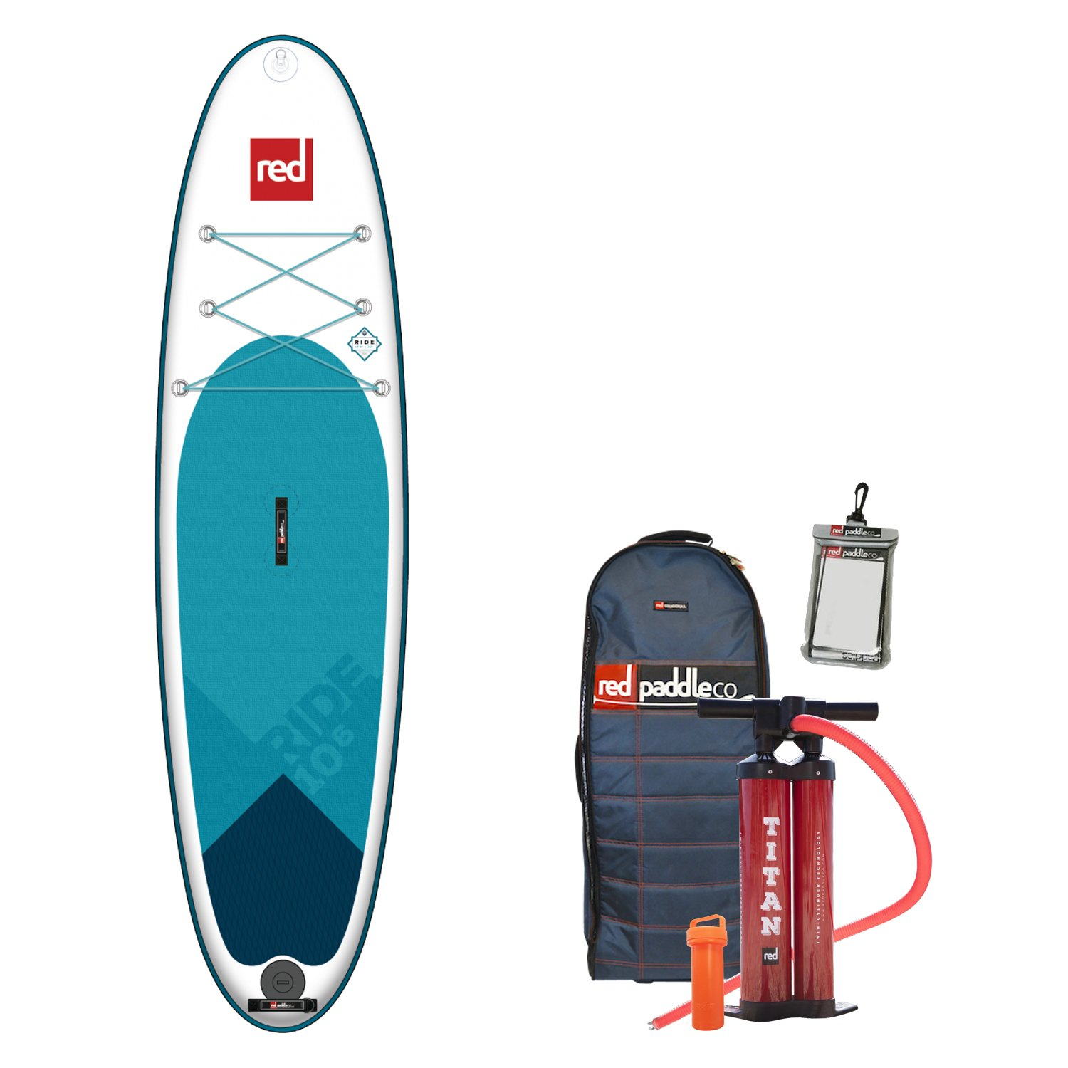 Multicolor One Size Red Paddle Unisexs RIDE 106 MSL Sup