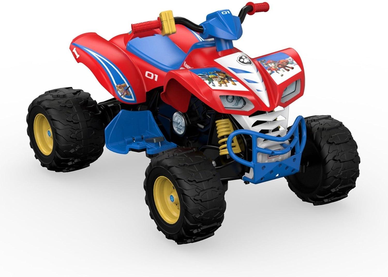 Amazon.com: Power Wheels Nickelodeon PAW Patrol Kawasaki KFX: Toys & Games