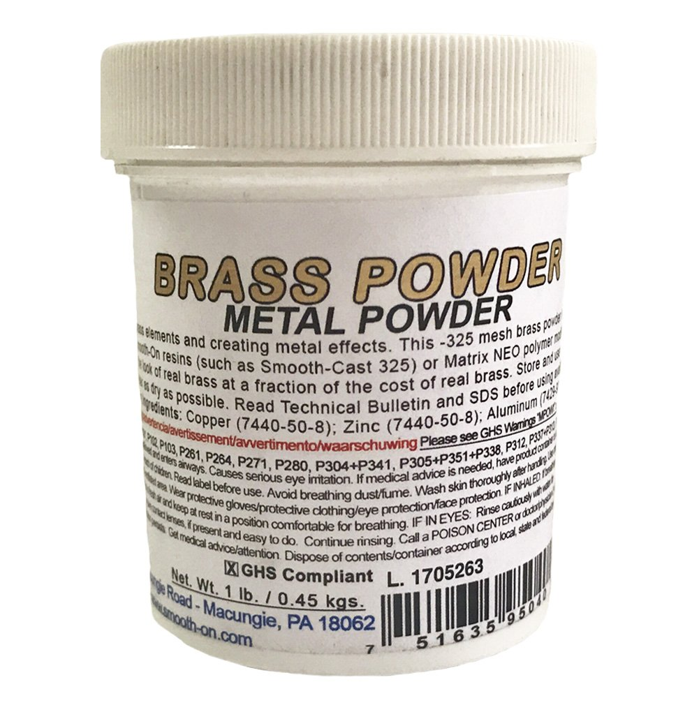 Smooth-On Metal Powder (Brass Powder)
