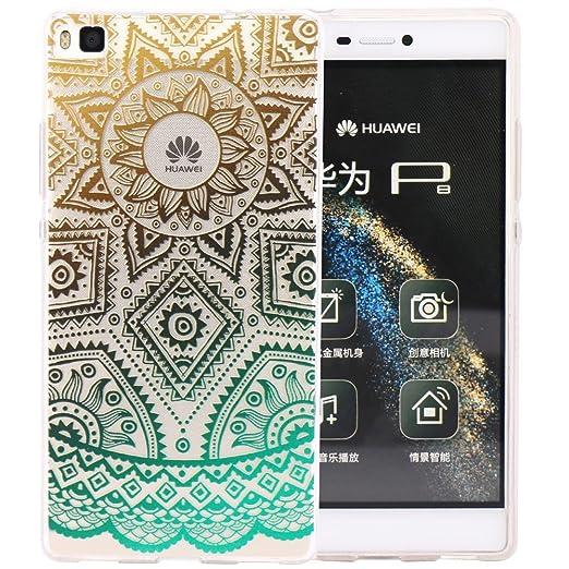 28 opinioni per Huawei P8 Case,JIAXIUFEN TPU Gel Protettivo Skin Custodia Protettiva Shell Case