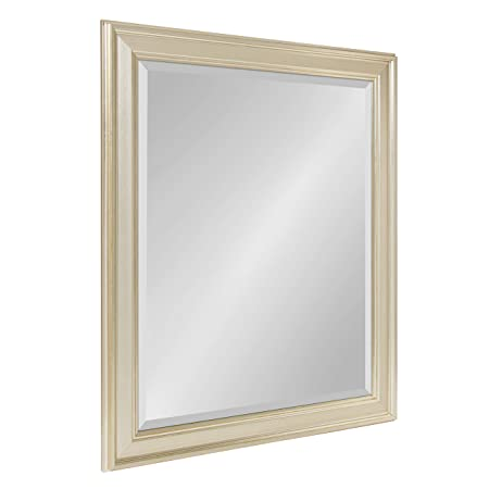 Kate and Laurel Corrigan Framed Wall Mirror, 27×33, Silver
