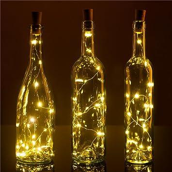 Recycle Wine Bottle Lights Pro, 3 Pack ,15LEDS, DIY Empty Liquor Lamps, - Amazon.com : Recycle Wine Bottle Lights Pro, 3 Pack, 15LEDS, DIY