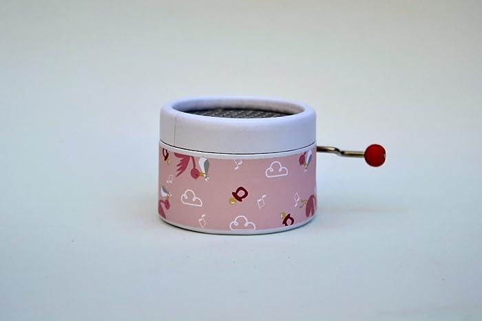 Caja de música manual bebé niña con música de bandas sonoras.