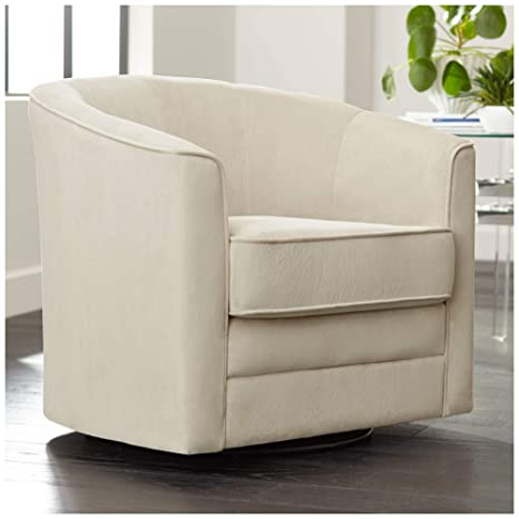 Marvelous Keller Argos Muse Pearl Velvet Swivel Chair Studio 55D Gamerscity Chair Design For Home Gamerscityorg