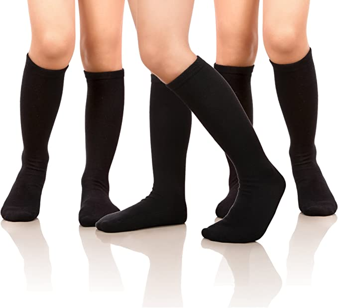 Prime Products Girls Cotton Rich Super Soft School Everyday Tights Age 3-13 Years in Eight Colours