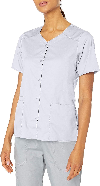 WonderWink Women's Wonderwork Short Sleeve Snap Jacket