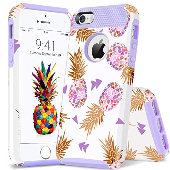 release date: 93c58 f4eaf Amazon.com: iPhone 5S Case Pineapple, iPhone SE Case, iPhone 5 Case ...