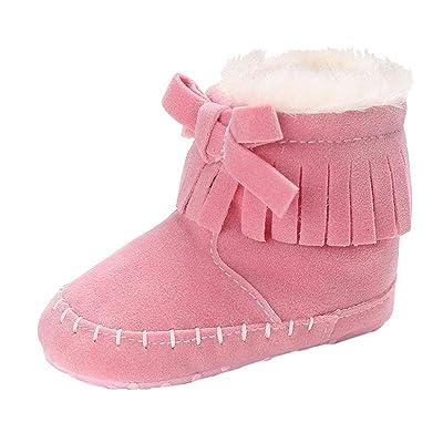 Webla Chaussures souples pour bébé (fille) Marron marron