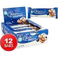 Quest Nutrition Protein Bar, White Chocolate Blueberry Muffin - Box of 12