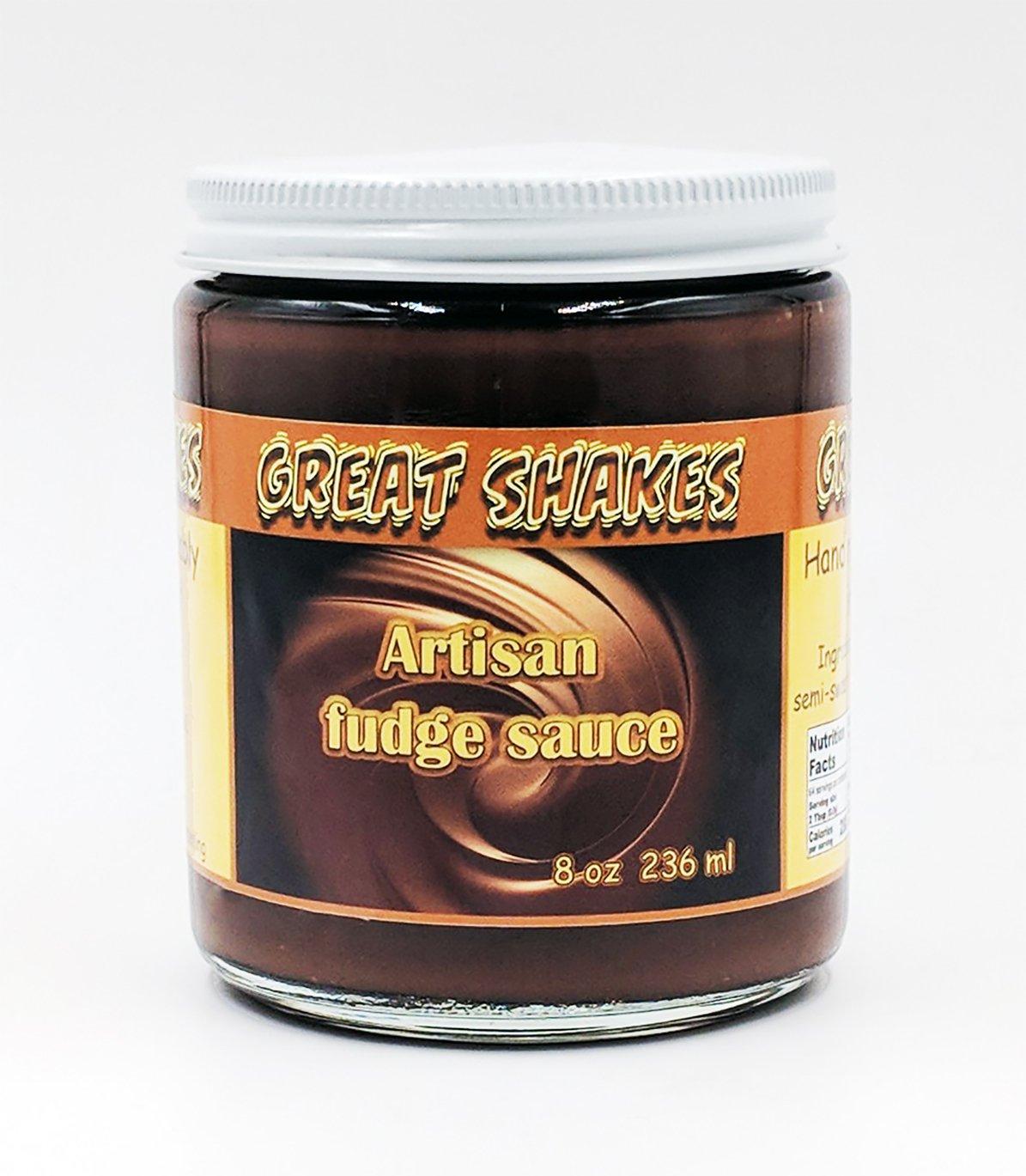 Great Shakes of Palm Springs Gourmet Fudge Sauce