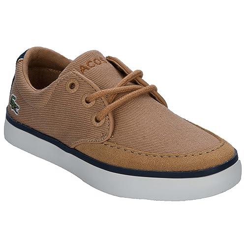 Zapatillas de Entrenamiento para niños Lacoste Severin en Bronceado - 11 niños: Lacoste: Amazon.es: Zapatos y complementos