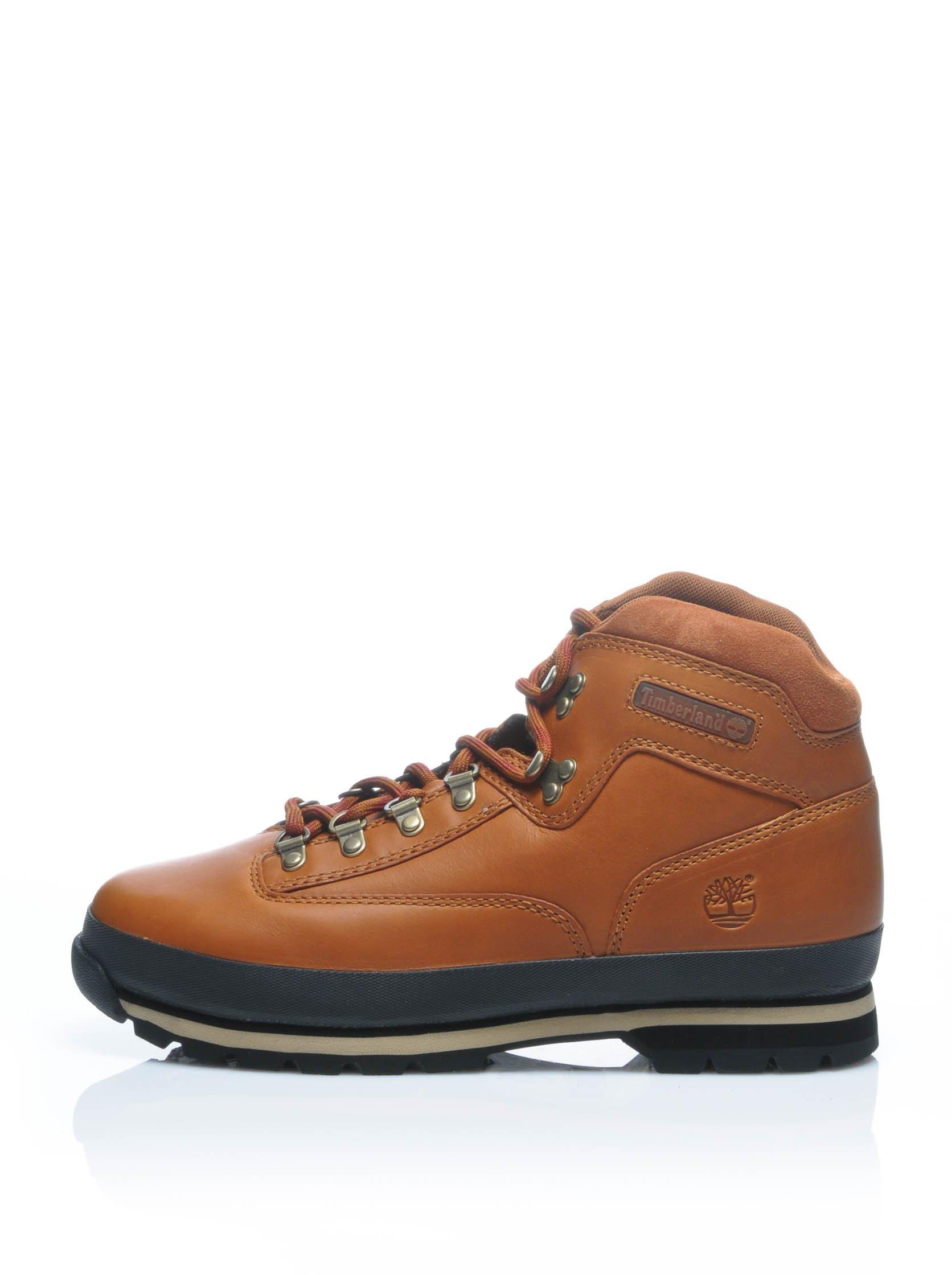 timberland mens eurohiker LTR MD BRN MEDI hi top boots 6602A sneakers (uk 7.5 us 8 eu 41.5)