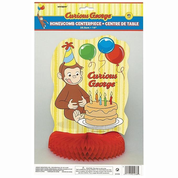 Amazon 34 Giant Round Foil Curious George Helium Balloon Toys Games
