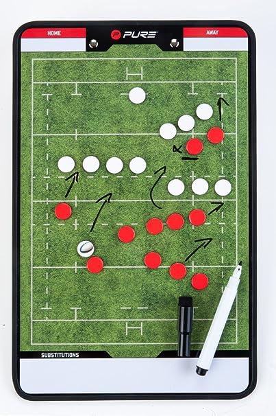 pure2i mprove Rugby Pizarra Táctica | variable & Flexible: Amazon ...
